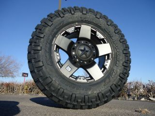 18 Wheels w 35 12 50 18 Nitto Trail Grappler Mud Tires Rims
