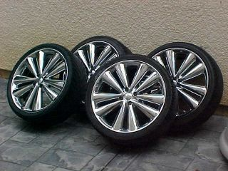 Niche Bella 18 inch Chrome Wheels Rims and Tires with Spacers