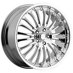 20 inch Menzari Z02 Chrome Wheels Rims 5x112 20 Mercedes SL 500 550