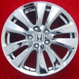 of 4 New Chrome 17 Honda Accord Factory OEM Wheels Rims EXCHANGE 64015