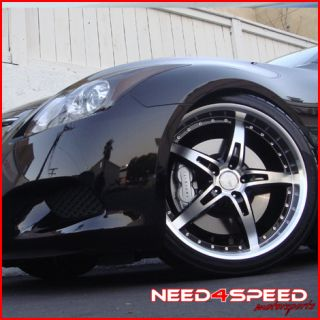 20 Infiniti G37 Coupe MRR GT 5 Staggered Rims Wheels