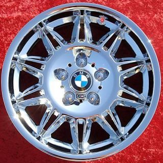 NEW 17 BMW M3 E36 OEM FACTORY CHROME WHEELS RIMS 325I EXCHANGE 59300