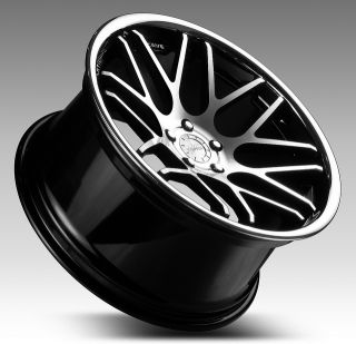 Staggered Wheels Rims Fit BMW M3 2000 35 38 Offset E46 E90