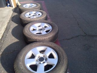 Nissan Titan Armada Pro 4X Factory Stock 18 Grey Wheels Rims
