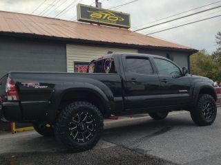 Block Wheels 5 Lug 5x5 5 139 7mm 150mm Rims Black Dodge Tundra