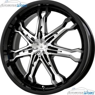 Verde Calibre 4x100 4x108 4x4 25 42mm Gloss Black Wheels Rims Inch 17