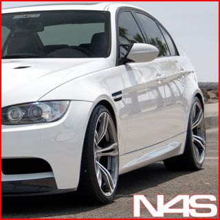 BMW E90 M3 Sedan Avant Garde M355 Concave Staggered Wheels Rims