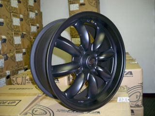 15 ROTA RB BLACK RIMS WHEELS 15x7 +4 4x114.3 AE86 COROLLA DATSUN 510