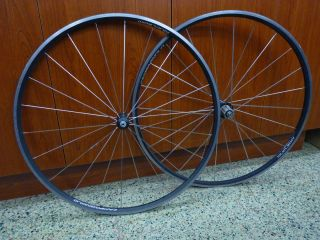 Nucleon Front and Rear Road Bike Rims Wheels 622 x 15c Italy Ultra