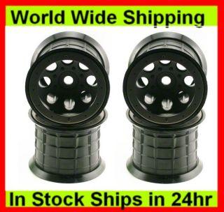 Axial AX8014 40 Series 8 Hole Oversize Beadlock Wheels 4 Savage T Maxx