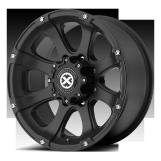 20 Wheels Rims ATX Ledge Black Silverado Sierra Yukon