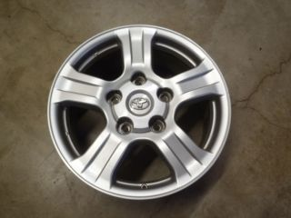 Toyota Tundra Land Cruiser TRD Silver Factory Alloy Wheels Rims