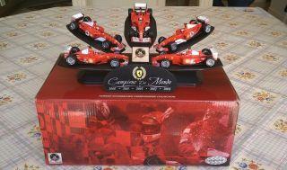 Hot Wheels 1 43 Ferrari F1 Michael Schumacher Championship Collection