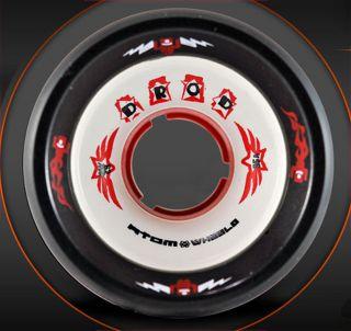 Atom Wheels D Rod 95A DRod 8 Pack 62mm x 44mm Roller Derby Speed Skate