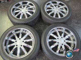 Sequoia Merceli 22 Wheels Tires Rims LX570 Land Cruiser 285 45 22