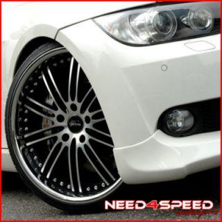 19 BMW E39 M5 Vertini Hennessey Machined Wheels Rims