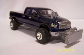 64 scale custom 06 Dodge Diesel Super Stock 4 X4 Puller , ERTL,DCP