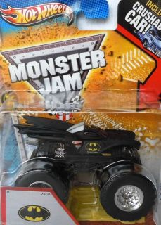 Hot Wheels 2013 Monster Jam Truck Batman with Crushable Car