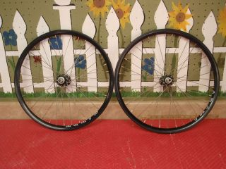 VINTAGE UKAI TUBULAR ROAD RIMS / RACING RIMS BLACK SUZUE HUBS 36H OLD