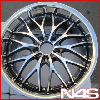E46 325 330 3 Series Roderick RW1 Concave Staggered Rims Wheels