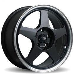 16 Rota Slipstream Gunmetal Rims Wheels 16x7 40 4x100 Mini Cooper