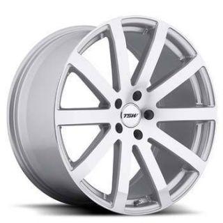 TSW Brooklands 20x10 5x112 ET42 Silver Wheels 2 Rim S