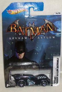 Hot Wheels 2012 THE BATMAN COMMEMORATIVE SERIES Batman Arkham Asylum