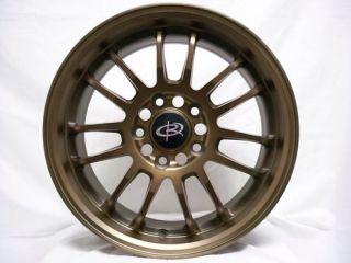 17 Rota SVN Bronze Rims Wheels 17x7 5 45 5x114 3 Civic