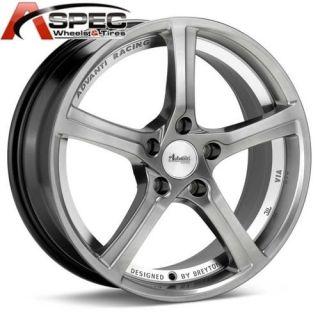 Racing 15th Anniversary 5x114 3 45 Hyper Gray Rims Wheels 5x4 5