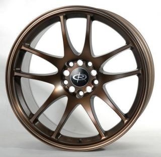 17 Rota Torque Bronze Rims Wheels 17x85 48 5x114 3 Mazda3 SPEED3