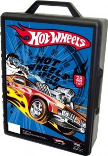 New Hot Wheels Molded 48 Car Case Colors and Styles May Vary