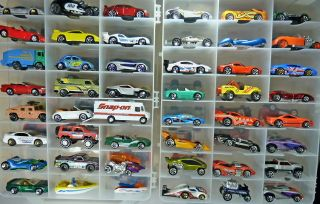 48 Assorted Matchbox Hot Wheels More Diecast Car Lot Trucks Cars Race