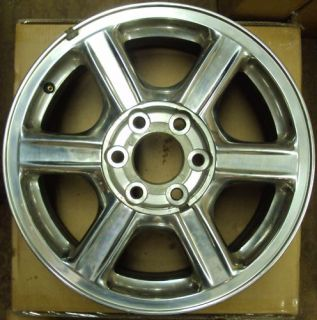 2002 2009 GMC Envoy 17 Chrome Wheel Rim
