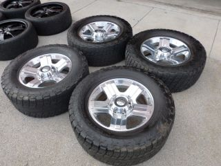 F250 F350 SD HARLEY DAVIDSON FACTORY OEM Rims Wheels Tires Caps NR