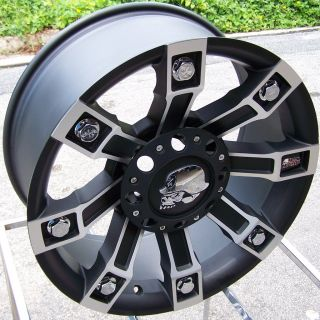 18 Procomp Metal Mulisha Rim 2011 Chevy GMC 2500 3500 HD Silverado