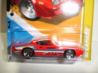 2012 Hot Wheels 1981 Chevy Camaro HW Premiere 43 Case H