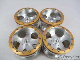 RC4WD Rockstar Narrow Beadlock Wheels 40 Series Tamiya Clod Buster