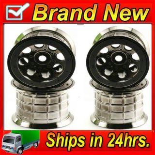 Axial AX8017 40 Series 8 Hole Oversize Beadlock Wheels 4 Savage T Maxx