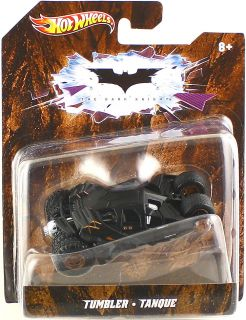 Hot Wheels 2012 Batman The Dark Knight Tumbler 1 50 Scale Car