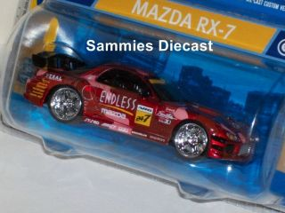 Hot Wheels Dropstars 1 50 Endless Red Mazda RX 7