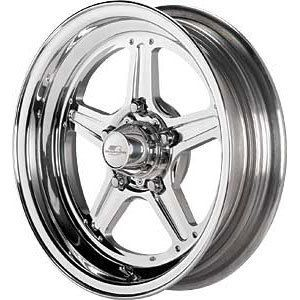 15X10 BILLET SPECIALTIES STREET LITE CAMARO GTO CHEVELLE RIMS WHEELS