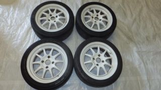 JDM 16 GAP SPORTS RIMS WHEELS 4x114 3 16x7 45 HONDA INTEGRA TYPE R DC2