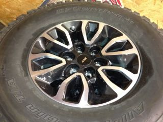Ford F150 SVT Raptor Wheels 17 Black and Machined BFG A T KO Tires