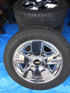 Chevrolet Silverado Wheels Tires Monitors 20