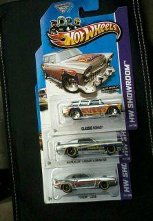 2013 Hot Wheels Regular Treasure Hun10 Chevy Camaro SS w Zamac Set