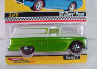 RLC Hot Wheels Neo Classics ~ 55 CHEVY PANEL Truck~ Redline Club~ MOC