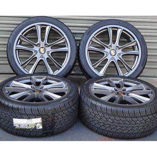 22 Porsche Cayenne s GTS Turbo Wheels Rims Tires