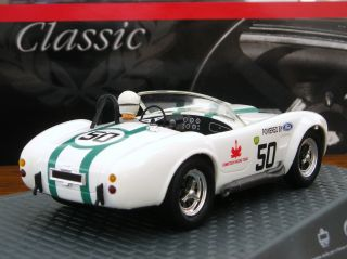Ninco 50585 AC Cobra BP Racing Team Classic Series 1 32 Slot Car New