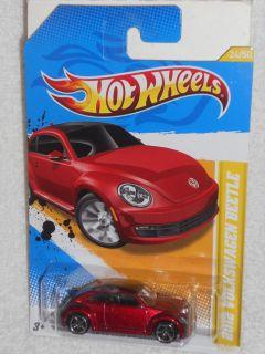 Hot Wheels 2012 Premiere 24 50 2012 Volkswagen Beetle Dark Red IntL P