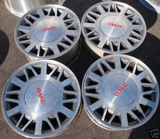 15 Chevrolet S10 S15 Blazer Sonoma Wheels Rims 4x4